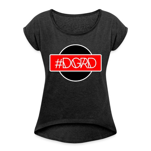 DGRD street - Maglietta da donna con risvolti