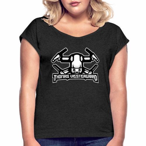 Thomas Vestergaard - Drone Billeder - Dame T-shirt med rulleærmer