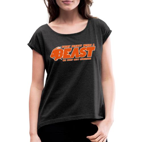 Beast Sports - Women's T-Shirt with rolled up sleeves