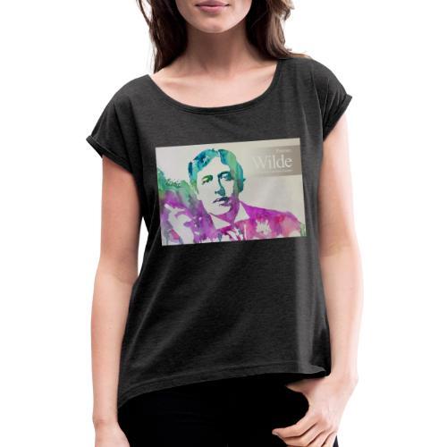 VINTAGE 10 - Maglietta da donna con risvolti