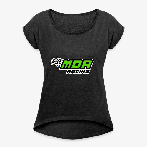 MDR Official Merch - Women's T-Shirt with rolled up sleeves