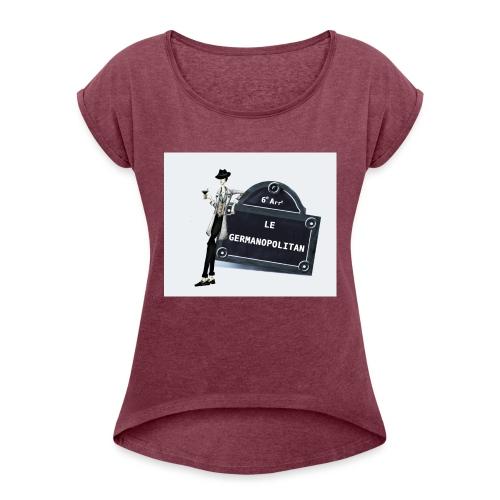 Sac Le Germanopolitan - T-shirt à manches retroussées Femme