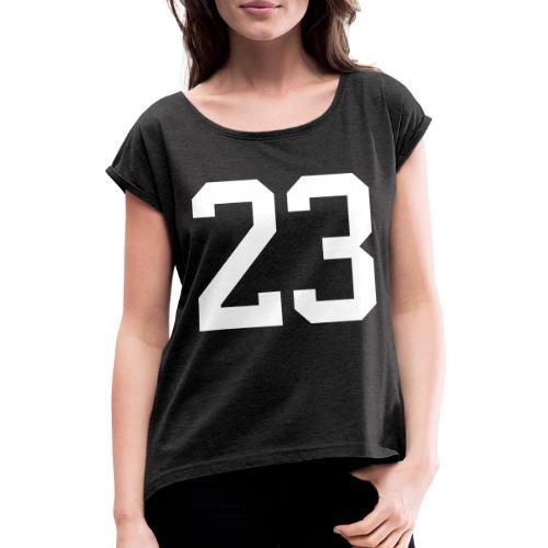 23 VISUR Stefan - Frauen T-Shirt mit gerollten Ärmeln