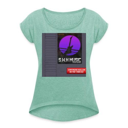 Cover series - Women's T-Shirt with rolled up sleeves