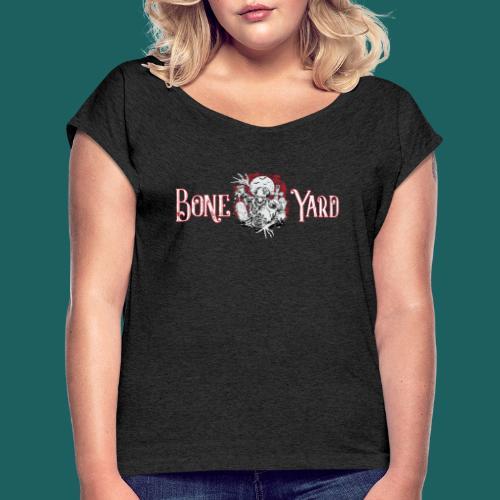 Do You Really Zombie - Vrouwen T-shirt met opgerolde mouwen