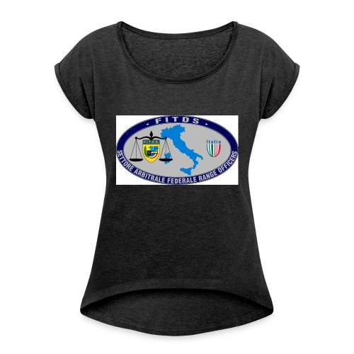 Logo SAFRO - Maglietta da donna con risvolti