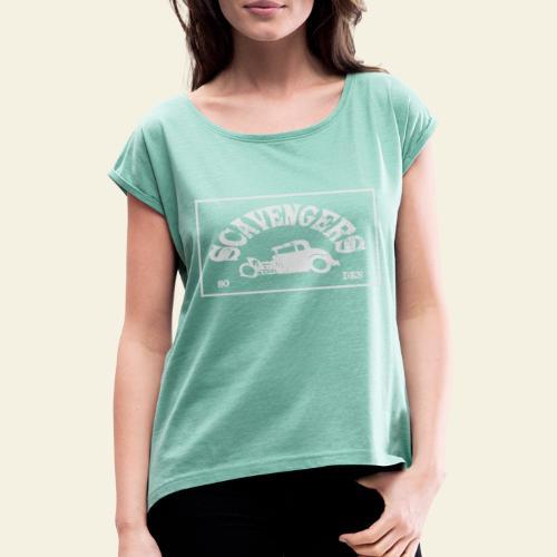 scavengers1 - Dame T-shirt med rulleærmer