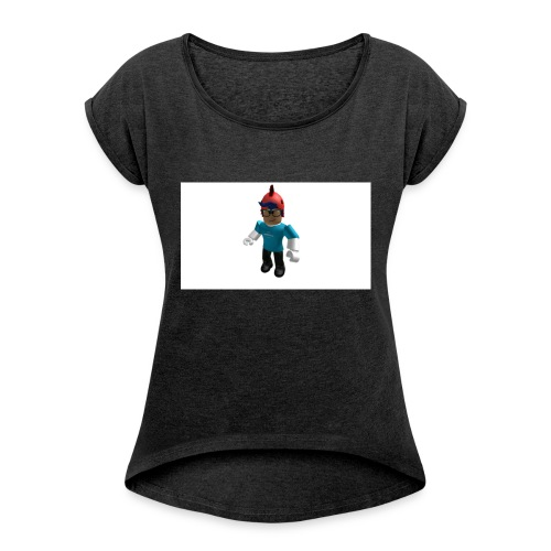 Thumbnail 1534200600686 - Women's T-Shirt with rolled up sleeves