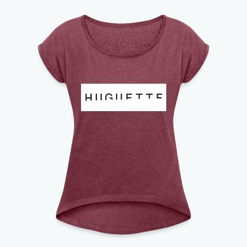 Huguette - T-shirt à manches retroussées Femme