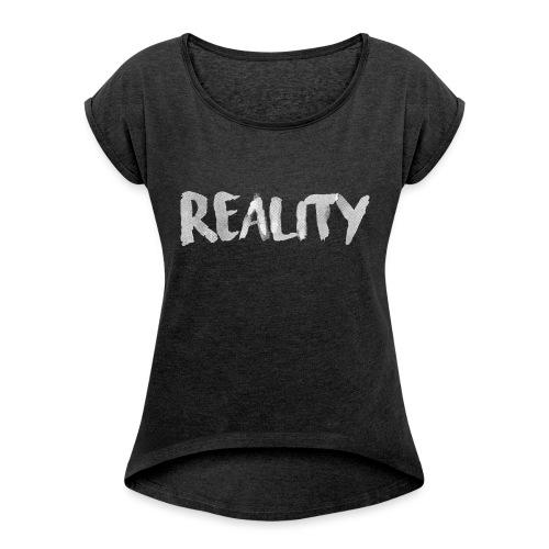 Reality - T-shirt à manches retroussées Femme