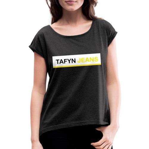 Sin ti tulo 1 - Camiseta con manga enrollada mujer