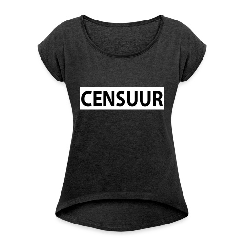 MTeVrede 4 - Women's T-Shirt with rolled up sleeves