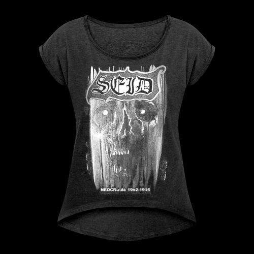 SEID-NEOCROME 1992-1995 - Women's T-Shirt with rolled up sleeves