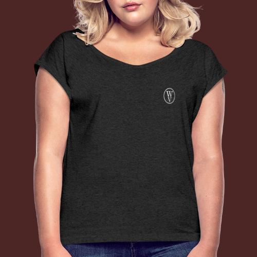 Win - Camiseta con manga enrollada mujer