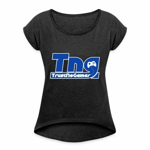 merchandising TrustNoGamer - Maglietta da donna con risvolti