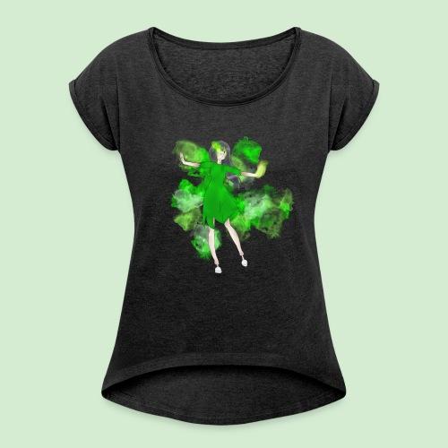 Lilly Watson! - Frauen T-Shirt mit gerollten Ärmeln