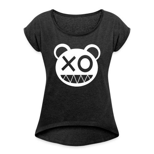 Positivity - T-shirt à manches retroussées Femme