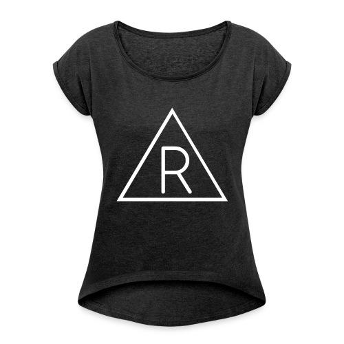 Vêtement économique by Rafik - T-shirt à manches retroussées Femme