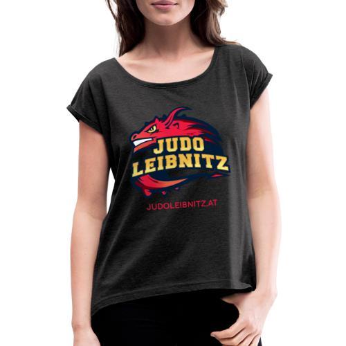 Judo Leibnitz Classic - Frauen T-Shirt mit gerollten Ärmeln