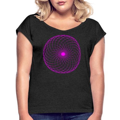 Torus Klein - Frauen T-Shirt mit gerollten Ärmeln