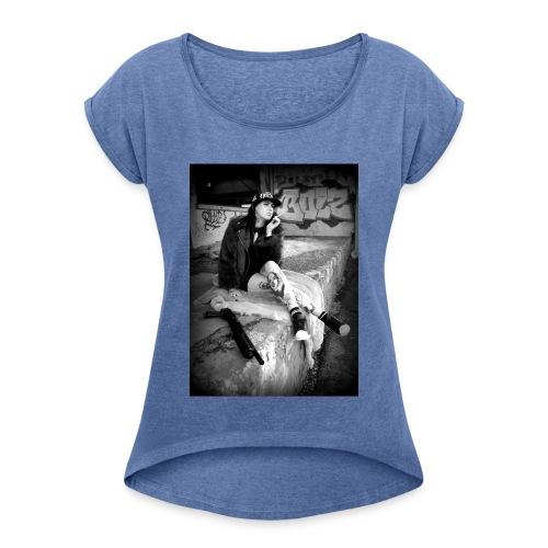 HELLSTARZ LILLIE I - T-shirt à manches retroussées Femme