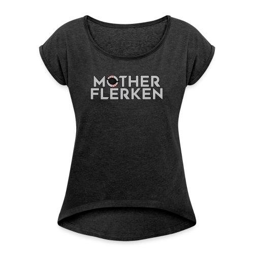 Mor flerken - Kat Flerken Soft Gås katten marveḹl - Dame T-shirt med rulleærmer