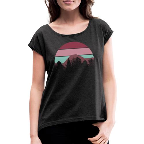 Tristner - Frauen T-Shirt mit gerollten Ärmeln