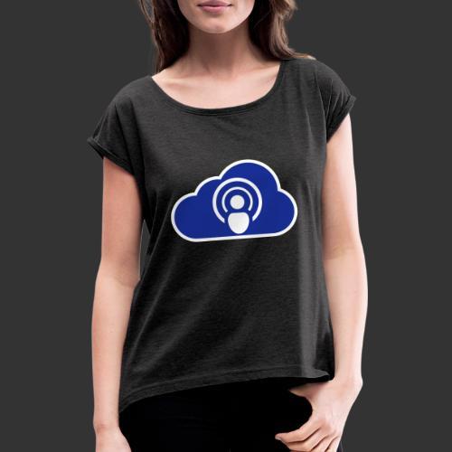 podCloud - Logo 2020 - T-shirt à manches retroussées Femme