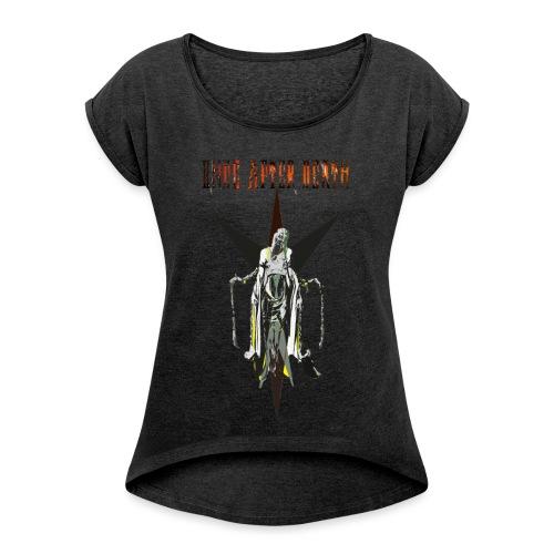 OAD TEE png - Frauen T-Shirt mit gerollten Ärmeln