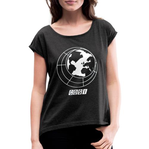 GOSI - Women's T-Shirt with rolled up sleeves