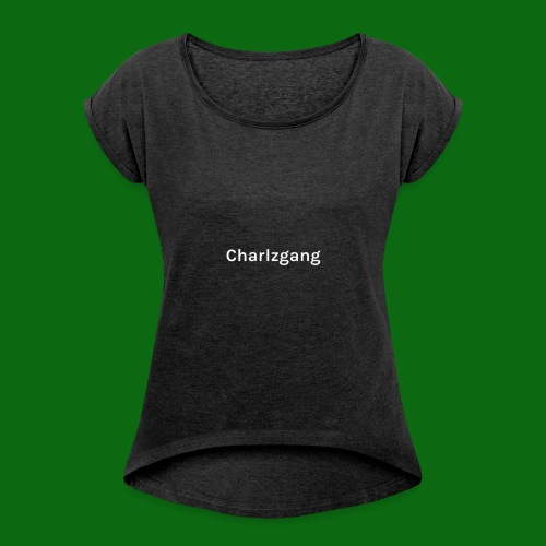 Charlzgang - Women's T-Shirt with rolled up sleeves