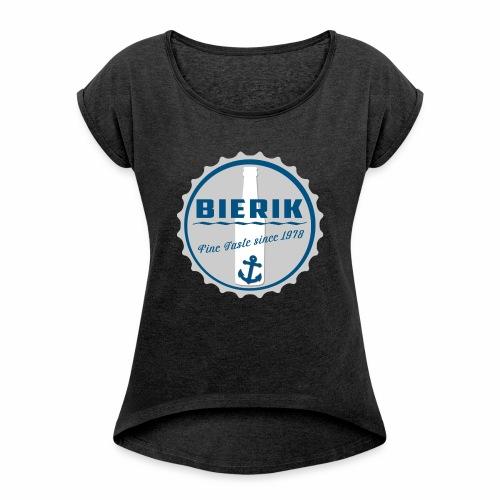 BaseCap A - Frauen T-Shirt mit gerollten Ärmeln