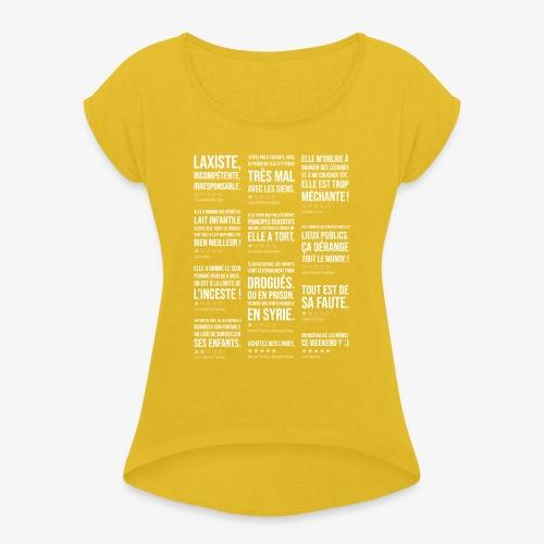Mumshaming - T-shirt à manches retroussées Femme
