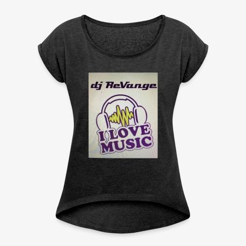 DJ REVANGE - T-shirt à manches retroussées Femme