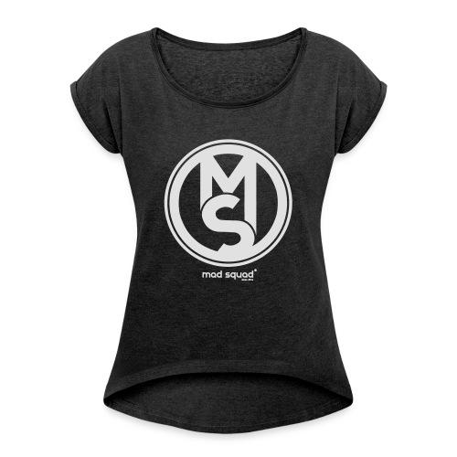 Mad Squad Fan T-Shirt Hombre - Camiseta con manga enrollada mujer