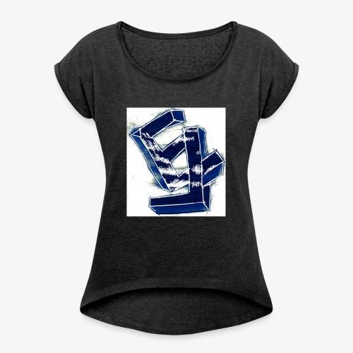 Eletro - T-shirt à manches retroussées Femme