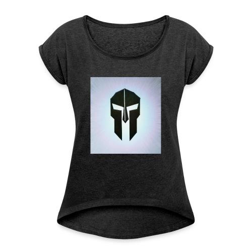 image-jpeg - T-skjorte med rulleermer for kvinner