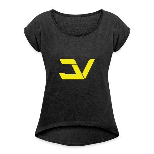 jv_logo-png - Dame T-shirt med rulleærmer