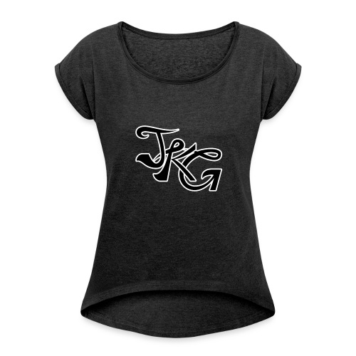 Jefkeuh Mug - Women's T-Shirt with rolled up sleeves