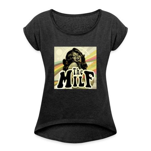 The Milf Classic Logo - Maglietta da donna con risvolti
