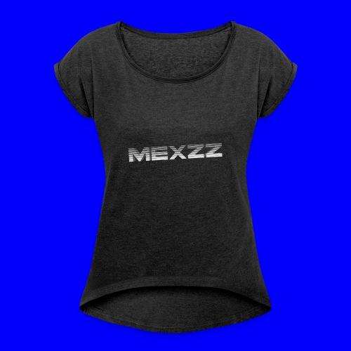 MexzZ in 's Flash - Vrouwen T-shirt met opgerolde mouwen