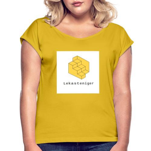 Lekasteniger - Frauen T-Shirt mit gerollten Ärmeln
