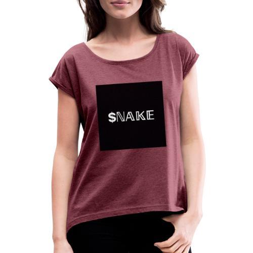$NAKE - Camiseta con manga enrollada mujer