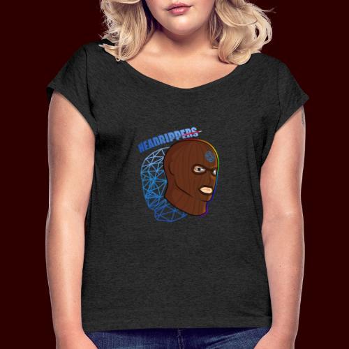 HeadRippers - Dame T-shirt med rulleærmer