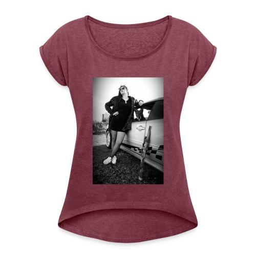 HELLSTARZ ALICIA I - T-shirt à manches retroussées Femme
