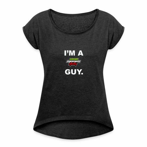 I'm a WMItaly guy! - Maglietta da donna con risvolti