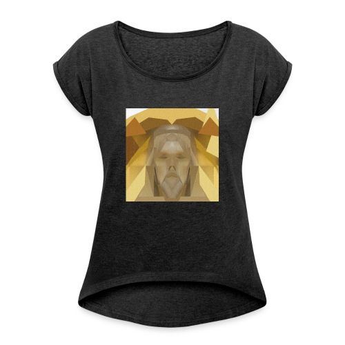 In awe of Jesus - Women's T-Shirt with rolled up sleeves