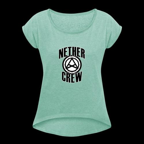 Nether Crew Classic T-shirt - Maglietta da donna con risvolti