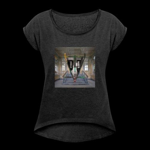 Stairs - T-shirt à manches retroussées Femme