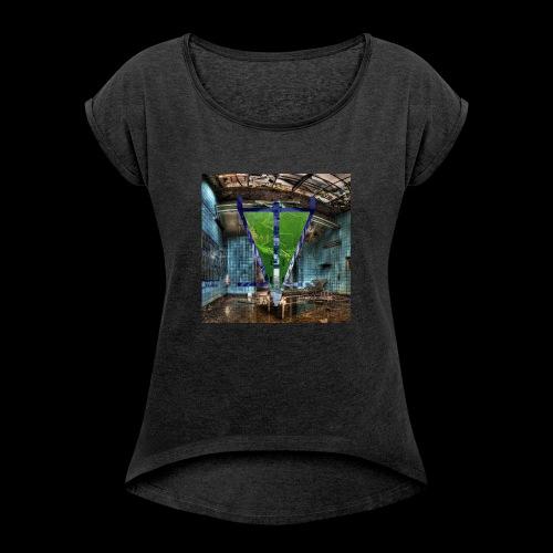 operation room - T-shirt à manches retroussées Femme